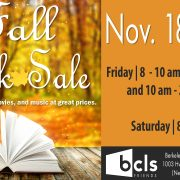 Friends of Berkeley County Library System Fall Book Sale