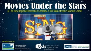 Movies Under the Stars @Moncks Corner @ Moncks Corner Regional Recreation Complex | Moncks Corner | South Carolina | United States