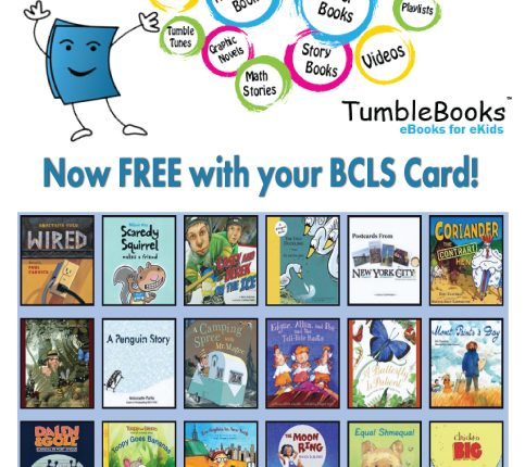 BCLS Gets An Enhanced Tumble Book Library: Great Resources for Kids
