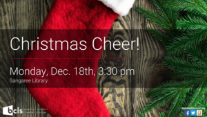 Christmas Cheer Celebration @ Sangaree Library | Summerville | South Carolina | United States