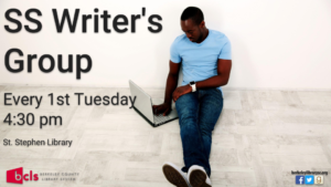 SS Writer's Group @ St. Stephen Library | Saint Stephen | South Carolina | United States